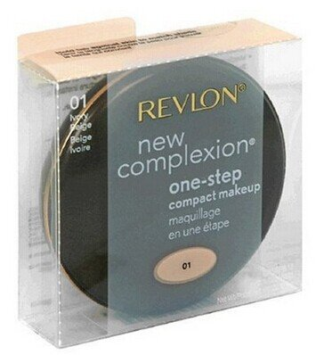 Lot of 2 pieces Revlon New Complexion One-Step Makeup, SPF 15, Ivory Beige 01