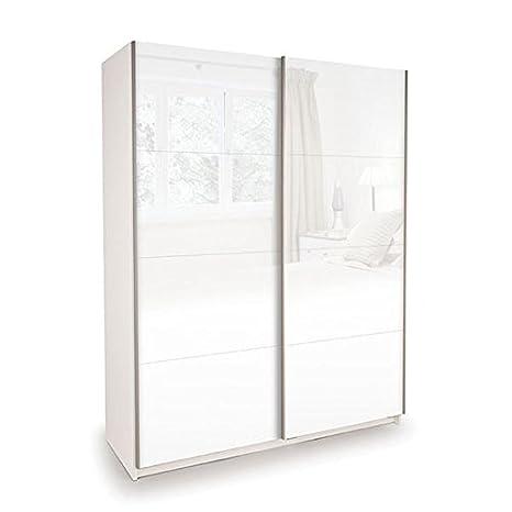 Camera da letto - Armadio metallico/armadio Pibor 13, colore: bianco ...