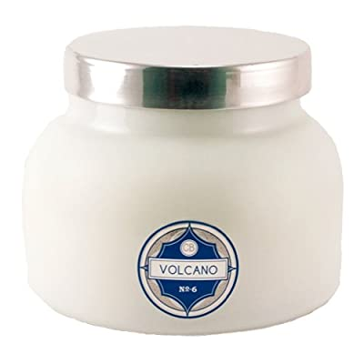 Capri Blue CB705VOL Volcano Jar Candle, 20 Oz, White