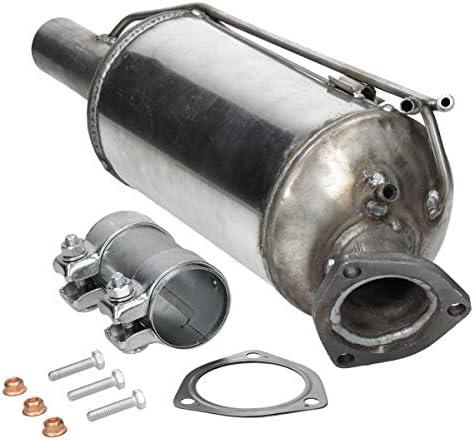 Ecd Germany Kat 180 Dieselpartikelfilter Ruß Partikelfilter Länge Mm 570 Mit Montagesatz Dpf Partikelfilter Abgasanlage Auto