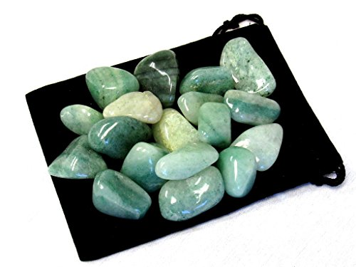 Zentron Crystal Collection 1/2 Pound Tumbled Green Aventurine Green Aventurine Crystal