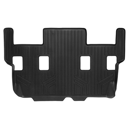 SMARTLINER Floor Mats 3rd Row Liner Black for 2007-2017 Expedition/Navigator (with 2nd Row Bucket Seats Or No 2nd Row Console) (No EL or L ()