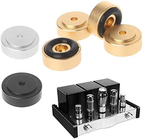 Amazon.com: Tomeco 4PCS 208MM Speaker Spikes Amplifier Aluminum Foot Pad Machine DAC Decoder Audio Speaker Computer Case Shock - (Bundle: M, Color: Black): Car Electronics