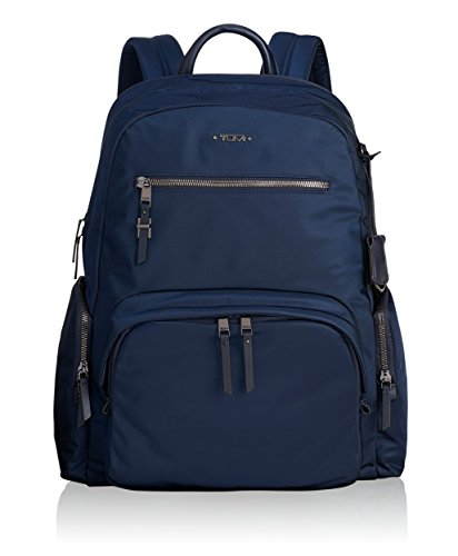Tumi Womens Voyageur Carson Backpack, Navy