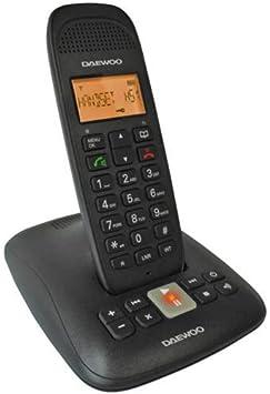 Daewoo DAE31DTD5500 - Teléfono Fijo, Incluye DECT: Amazon.es: Electrónica