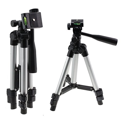 Navitech Lightweight Aluminium Tripod Compatible With The Nikon Digital SLR Camera D300S, Nikon Digital SLR Camera D7000 (Best Tripod For D7000)