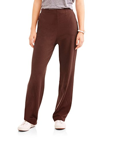White Stag Women's Knit Pull-On Pants Available In Regular and Petite (Large, Warm (Pull On Knit Pants)