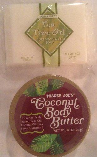 Trader Joe Bundle - Coconut Body Butter and Tea Tree Oil Veg