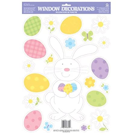 Easter window stickers easter party supplies gifts amazon easter window stickers easter party supplies gifts negle Choice Image