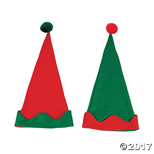 12 PACK - Elf Hats - Christmas Costumes & Accessories & Costume (Oriental Trading Christmas Costumes)