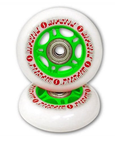 Razor Ripstik Wheels / Razor Ripstick Replacement Wheels, Green