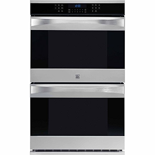 """Kenmore Elite 48453 30"""" Electric Double Wall Oven with True"""