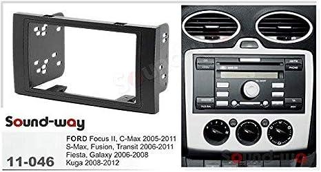 Radio diafragma 2din adaptador ford fiesta Focus C-Max Fusion 2005 /> enmarcar