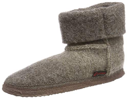 Taupe Gris Kalbach Chaussons Montants 262 Giesswein Femme Xqnv6apwnx