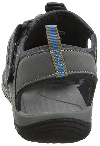 Gola Shingle 3, Sandalias de Senderismo, Hombre Gris (Grey/black/blue)
