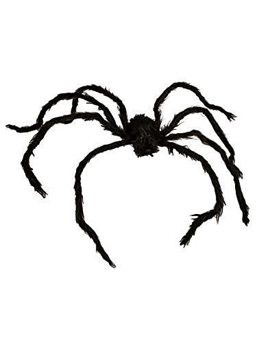 Seasons USA 50 Fuzzy Posable Spider Party Decoration