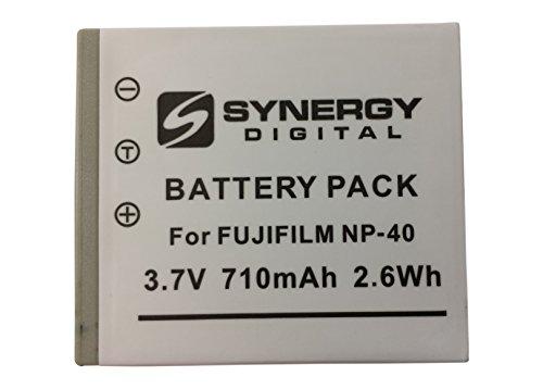 Fujifilm Finepix Z1 Digital Camera Battery Lithium (710 mAh) - Replacement for Fuji NP-40, Pentax D-L18 & Panasonic (710 Mah Lithium Battery)