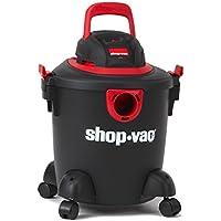 Shop-Vac 2035000 5 gallon 2.0 Peak HP Classic Wet Dry Vacuum, Black/Red