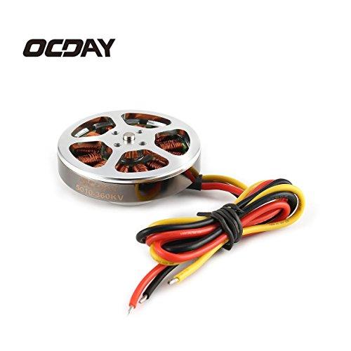OCDAY 5010 360KV高トルクブラシレスモーター(マルチコアクワッドコプター用)