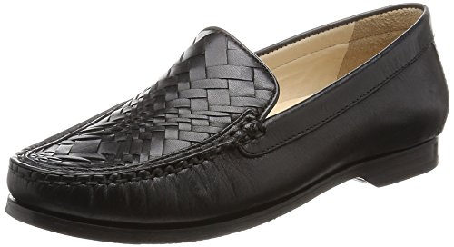 Cole Haan Womens Pnch Genevieve Weave Slip-on Mocassino Nero