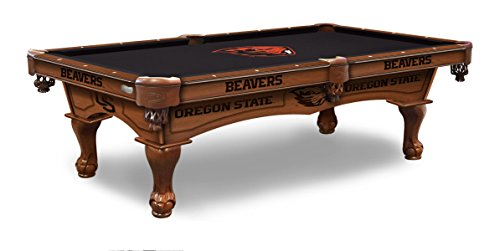 (Holland Bar Stool Co. Oregon State 8' Logo Pool Table)