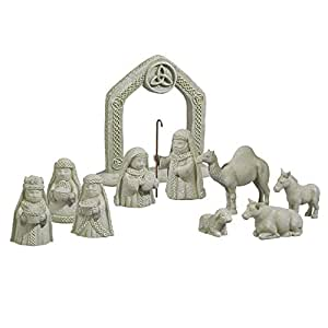 Praderas Road Gr celta en miniatura set de Belén