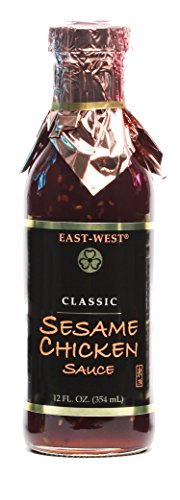 East-West Specialty Sauces, Sesame Chicken, 12 Ounce (Pack of 4)