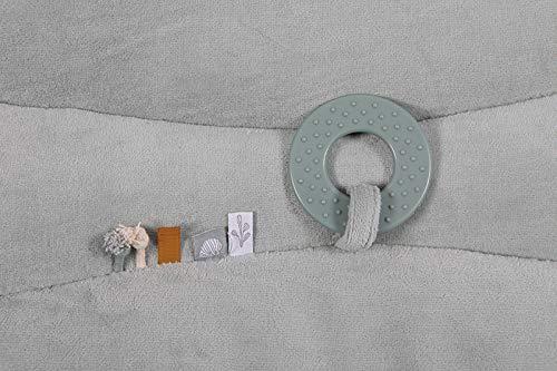 Tiamo Little Dutch 4841 Laufgittereinlage Krabbeldecke Ocean mint 80x100 cm