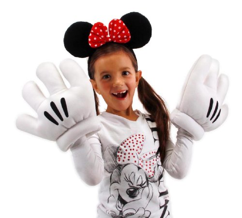 elope Disney's Minnie Mouse Ears & Gloves Set