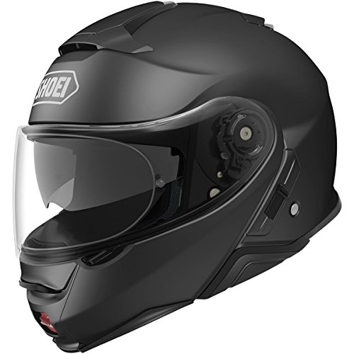 Shoei Solid Neotec 2 Modular Motorcycle Helmet - Matte Black/2x-Large -  0116-0135-08