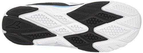 Fluo Diadora Hawk Nero Black Blu 7 Running Shoes Men's Bianco zZrawqzROW