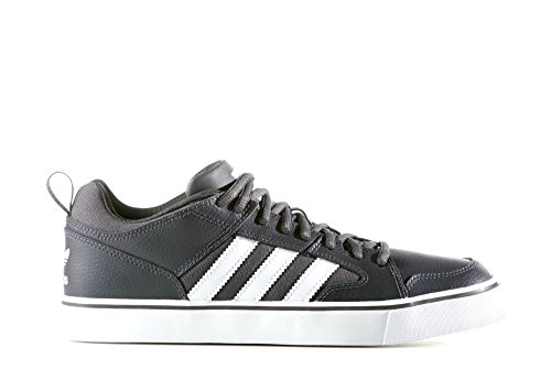 Adidas Varial II Low Men Round Toe Leather Gray Sneakers Grey;white eaFmBi63F
