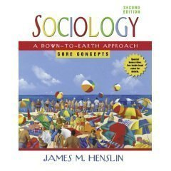 Study Guide Plus for Sociology: A Down-to-Earth Approach, Core Concepts 2nd edition by Henslin, James M. (2006) Paperback (Sociology A Down To Earth Approach Core Concepts)