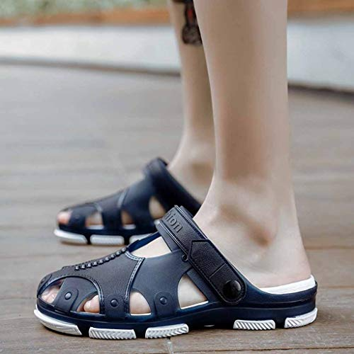 Jiangfu Casuale Unita Tacco Sandali Piatto Fibbia Stile Tinta Bassa pantofole Da Spiaggia Scarpe Bianco Donna rwWrxqanO1