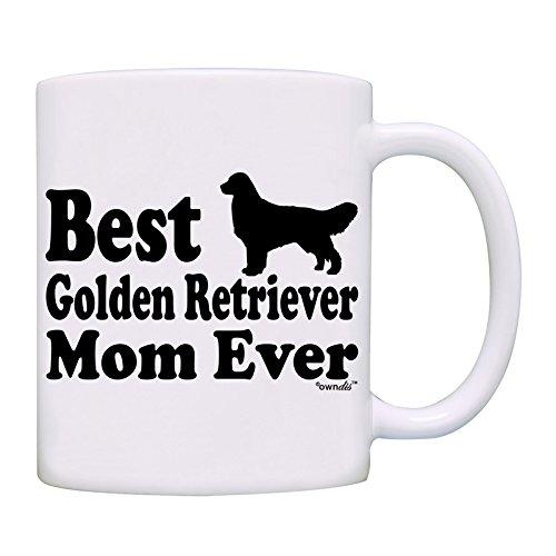 Mug Best Golden Retriever Mom Ever Coffee Mom Mug0053White