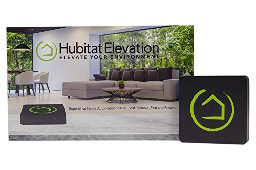 (Hubitat Elevation Home Automation Hub - Works with Alexa, Google Home, Iris, Zigbee, Z-Wave, Lutron, Wink)