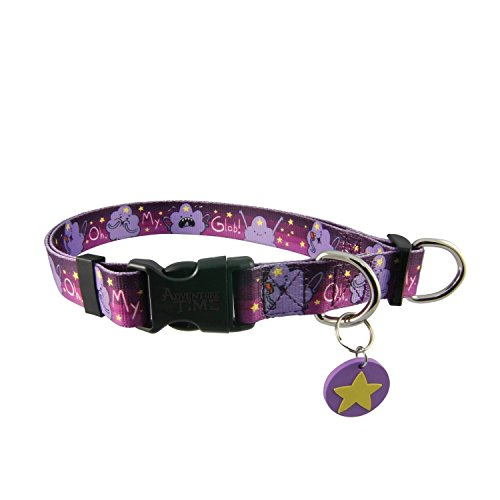 Adventure Time Lumpy Space Princess OMGlob Adjustable Nylon Dog Collar (Small) (Nylon Spaces compare prices)