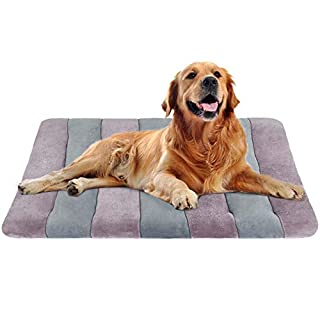 """Dog Bed Large Crate Bed Mat 42"""" Pet Beds Washable Anti-Slip Bottom Cat Beds Mattress Kennel Pad"""