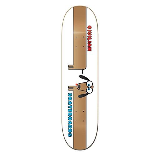 CIVILIAN SKATEBOARDS Team Wiener Dog Skateboard Deck 8.25 Made in California Switchboard Dropship 1DECVWD82