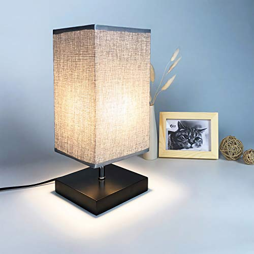 Top 10 Minimalist Solid Wood Table Lamp Bedside Desk Lamp