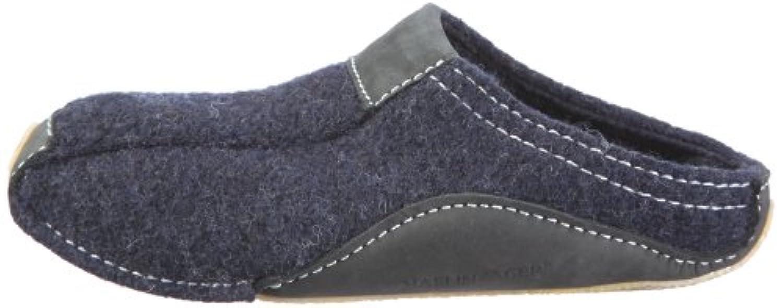 Haflinger Unisex Adults' Pocahontas Unlined low house shoes Blue Size: 3