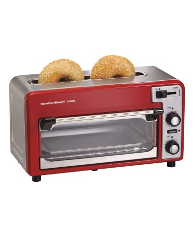 Hamilton Beach ensemble Toastation 22722 Toaster & Oven (Small Toaster Oven Red compare prices)