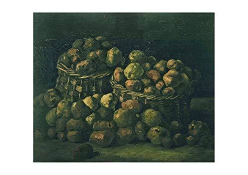 Spiffing Prints Vincent Van Gogh Baskets of Potatoes, 1885 - Medium - Archival Matte - Unframed