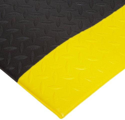 - NoTrax 508 PVC Diamond Cushion Anti-Fatigue Floor Mat, 3' Width x 6' Length x 1/2
