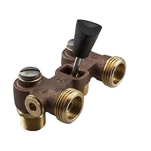 "Watts 2T-M2 Brass & Tubular Washing Machine Hot Water Shut Off Valve, 1/2"""