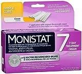 Monistat 7 Vaginal Antifungal Treatment Cream - 7 Each, Pack of 2