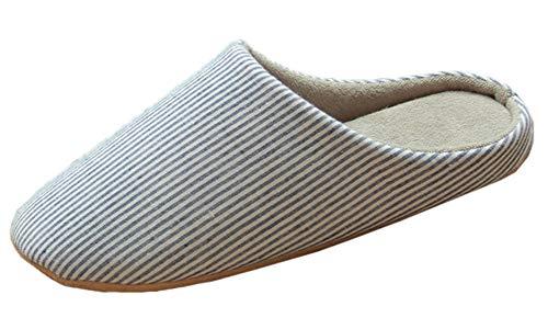 Snone Slip Coucher Hommes Slippers à Femmes Semelle Chaussures Chausson Style Accueil de Salon Chambre Hiver Intérieur extérieur Sandales Anti Bleu Japonais Automne Souple TEXzTwqr