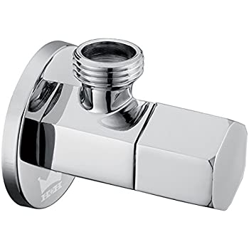 Royal H H Modern Angle Stop Valve Quarter Turn Shut Off Water Sink Bathroom Toilet Kitchen