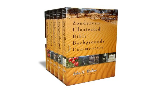 ILLUSTRATED COMMENTARY SET  VOL 1 TO 5 (Zondervan Illustrated Bible Backgrounds Commentary)