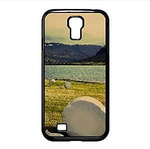 Haystack Watercolor style Cover Samsung Galaxy S4 I9500 Case (Landscape Watercolor style Cover Samsung Galaxy S4 I9500 Case)